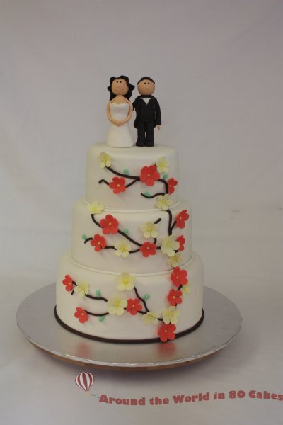 80s wedding cake wedding cakes gallery around the world in 80 cakes 10512