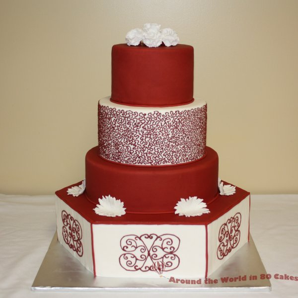 wedding cake red southern blue celebrations wedding cake inspirations 23659