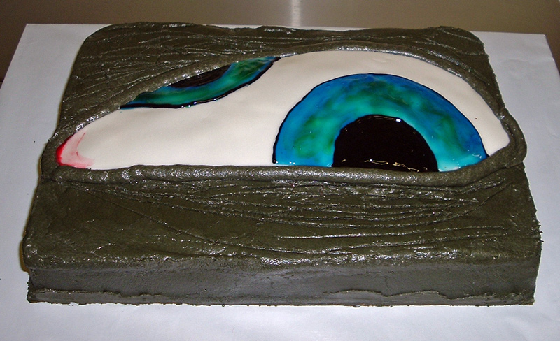 Tool AEnima Cake - Around the World in 80 Cakes