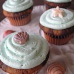 seashell beach cupcakes