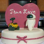 Wall-E Cake Topper