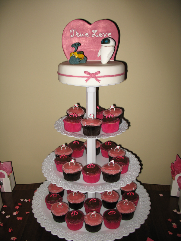 Wall-E Cupcakes