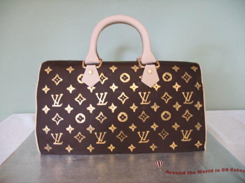 Louis Vuitton Cake | www.80cakes.com