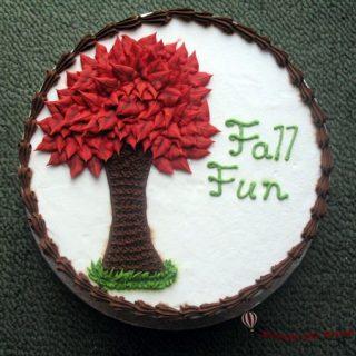 Fall Cake Fun
