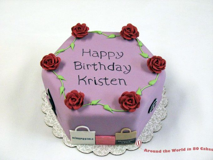 Brilliant Special 17Th Birthday Cake Around The World In 80 Cakes Funny Birthday Cards Online Fluifree Goldxyz