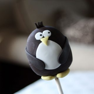 Penguin cake pops and other animals