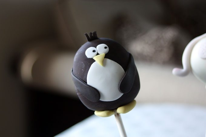 Penguin Cake Pops