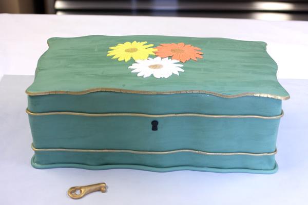 Vintage Jewelry Box Cake