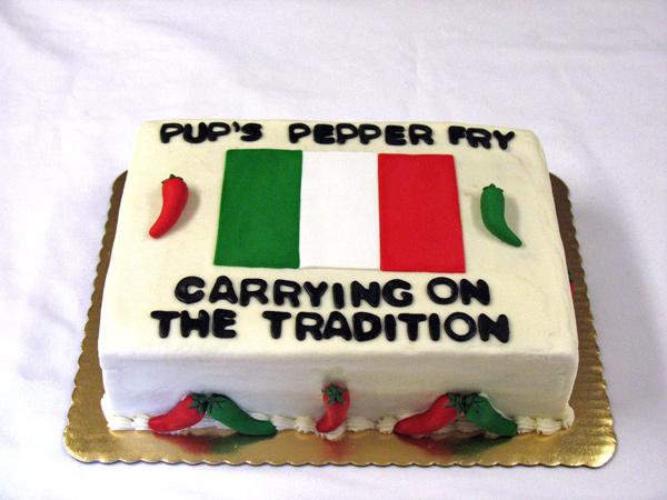 Pepper Fry Cake
