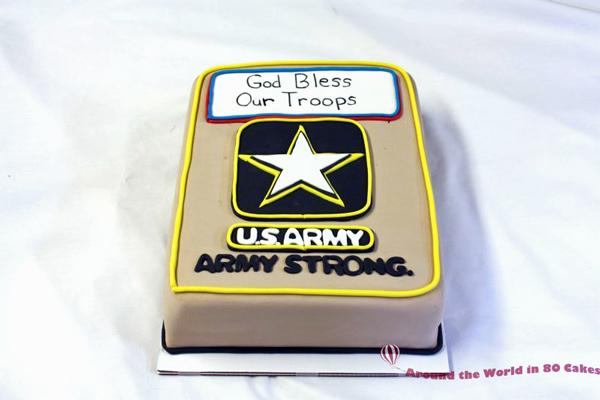 us army cake