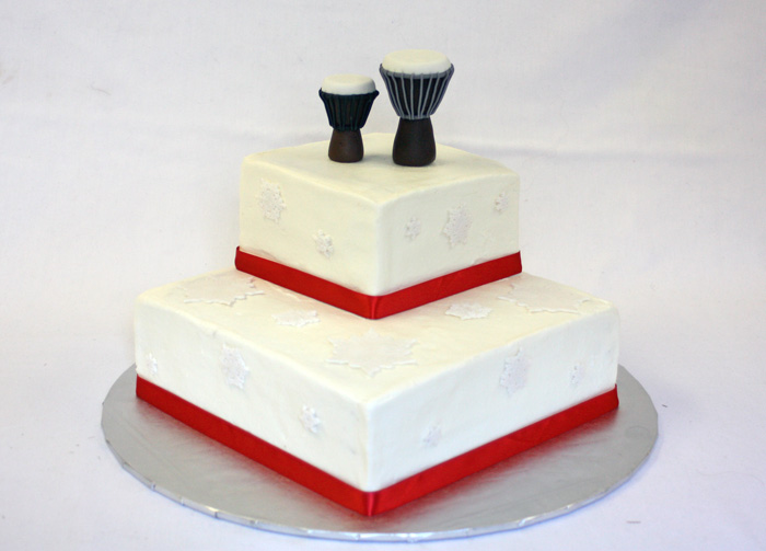 African drums cake