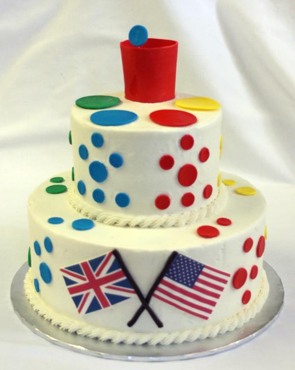 Tiddlywinks Cake