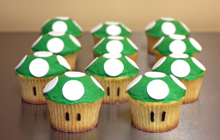 Super Mario Cupcakes Around the World in 80 Cakes