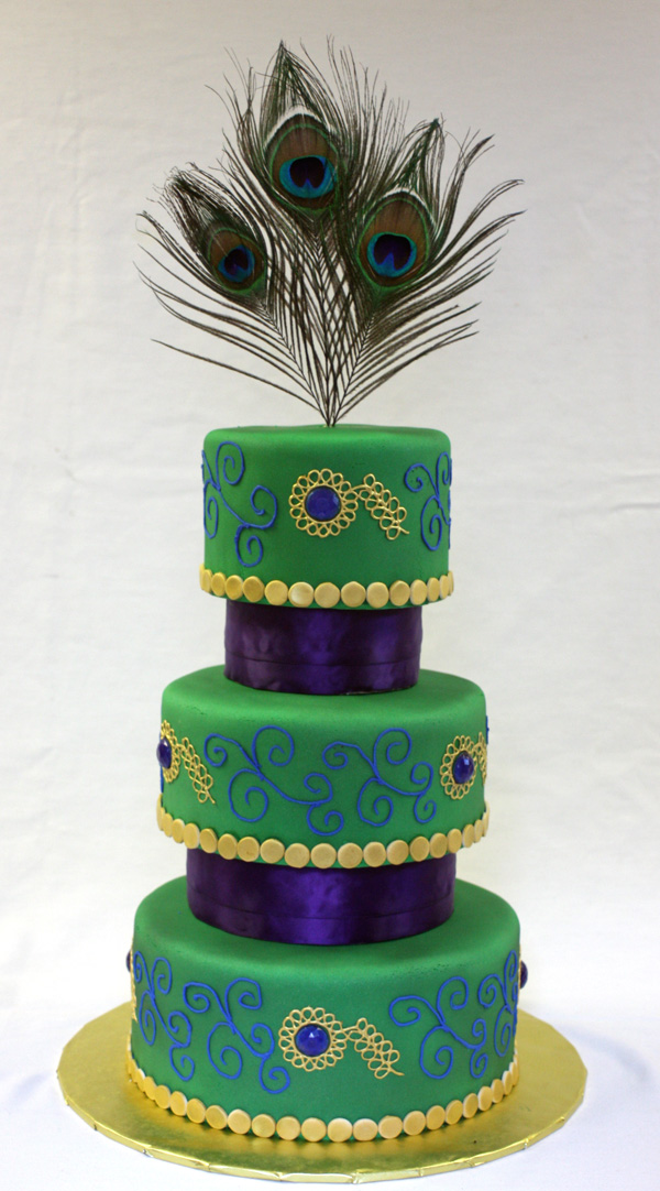 Peacock Wedding Cake Around The World In 80 Cakes