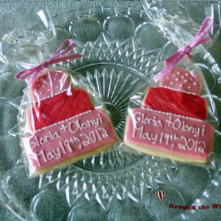 Tiered Cake Cookie Wedding Favor