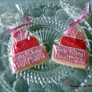 Tiered Cake Cookie Wedding Favor