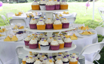 Lavender and Lemon Cupcakes