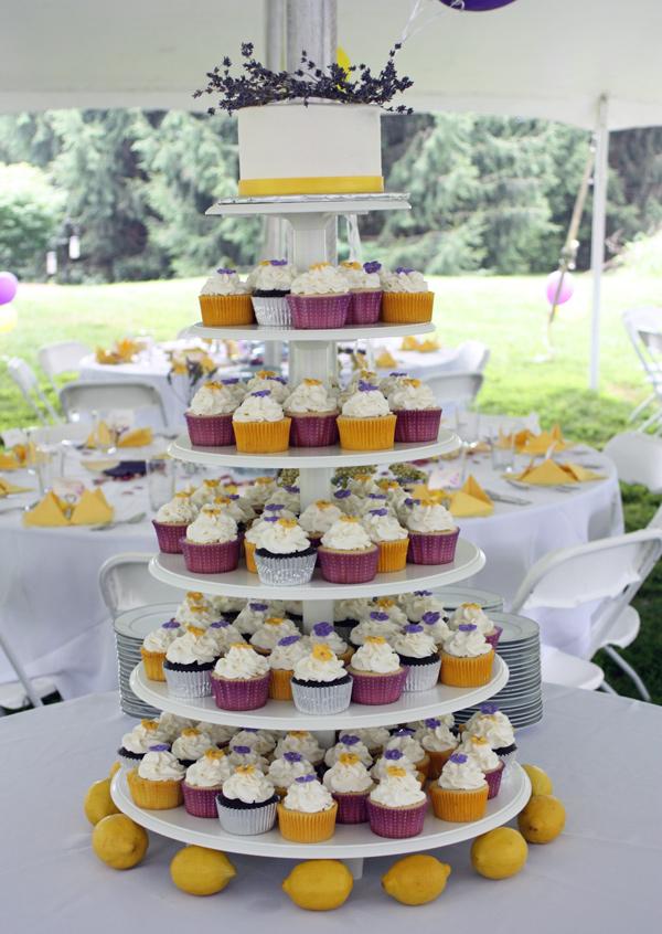 Lavender and Lemon Cupcakes