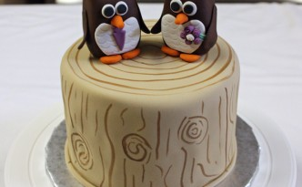 woodland-wedding-cake-topper