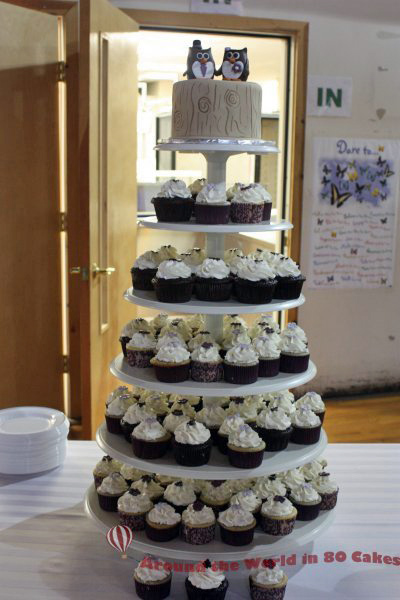 woodland-wedding-cupcake-tower