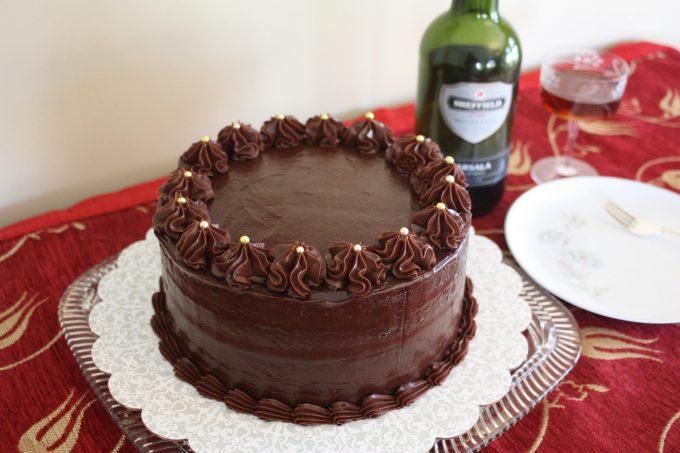 The Cannoli Cake