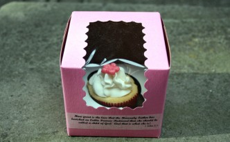 Baptism Cupcake Favors