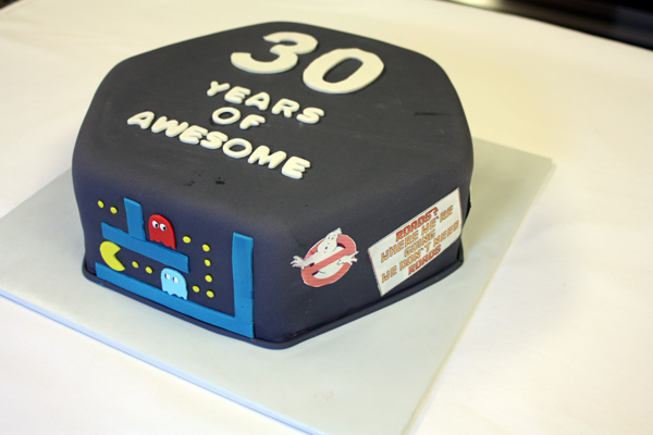 80s Birthday Cake 3 Wo