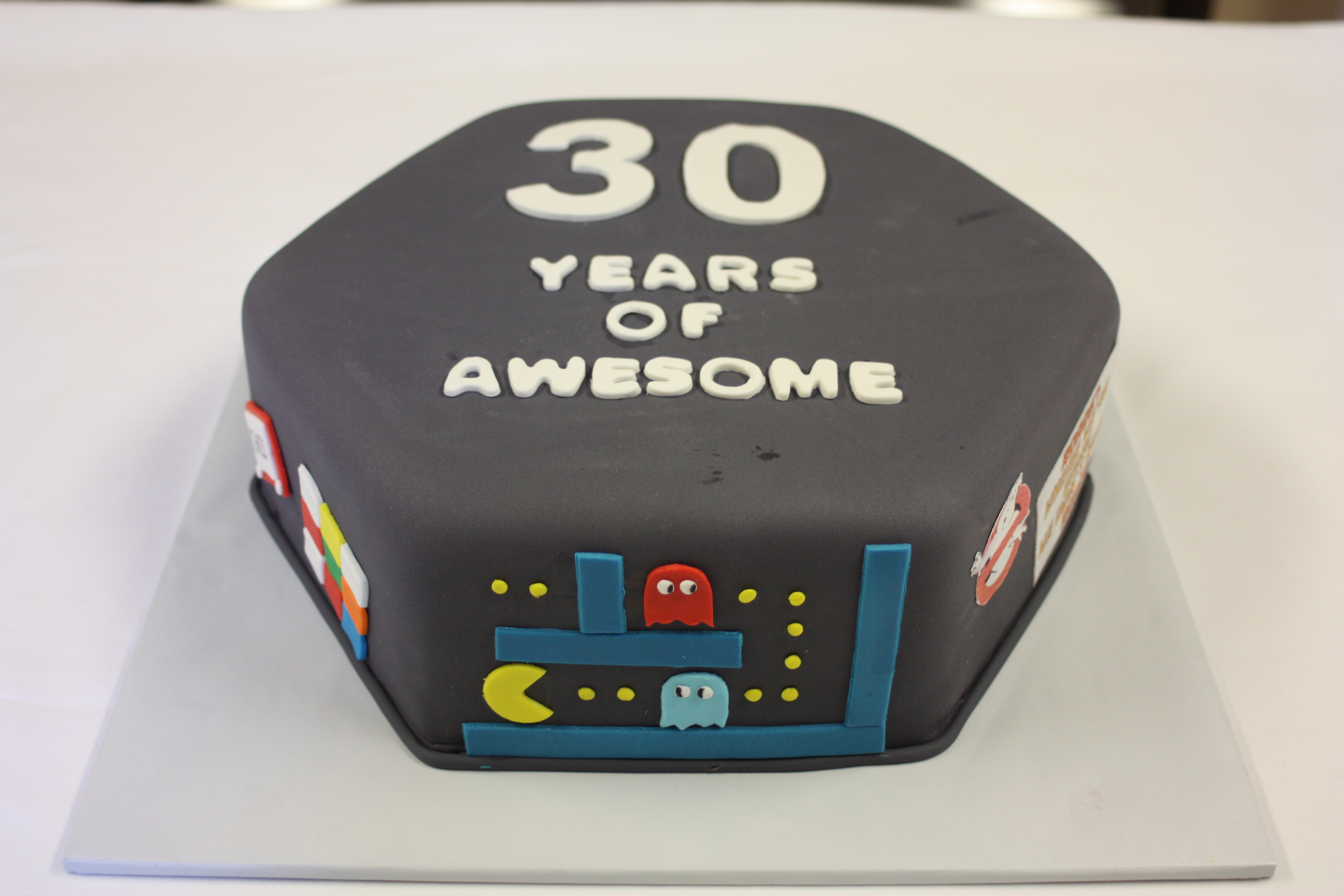 Awesome 80S Themed Birthday Cake Around The World In 80 Cakes Funny Birthday Cards Online Elaedamsfinfo