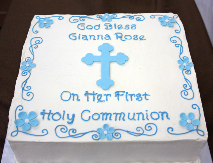 Communion Cake - Around the World in 80 Cakes