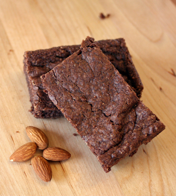 Almond Vegan Brownie recipe that is gluten-free