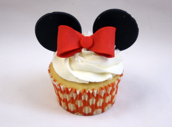 Minnie Mouse Cupcakes Example 2