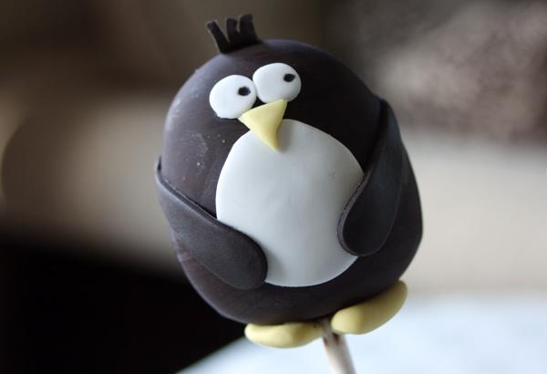 Penguin Cake Pop
