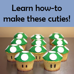 How-to Make 1-up Cupcakes