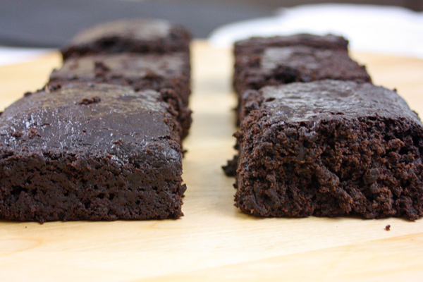 Vegan Black Bean Brownies - Around the World in 80 Cakes