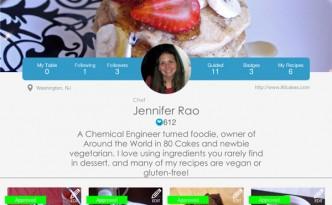 SideChef Profile Page