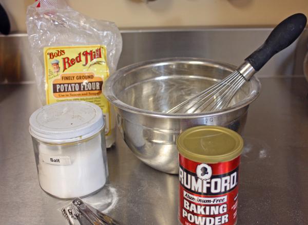 Sandkaka Recipe Step-1-combine-dry-ingredients