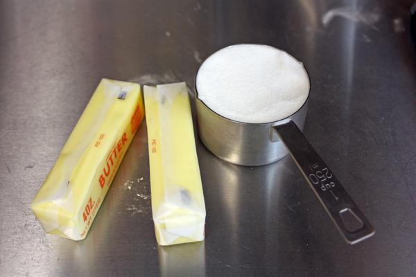 Sandkaka Recipe Step-2-soften-butter