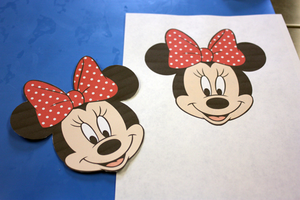 How To Make A D Minnie Mouse Cake Topper