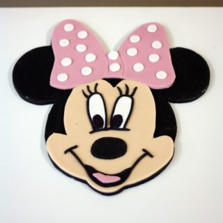 Minnie Mouse Cake Topper How-To