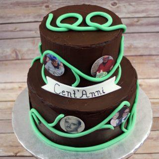 100 Year Birthday Cake