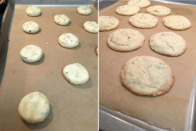 Vegan Apricot Sage Cornmeal Cookies step 4
