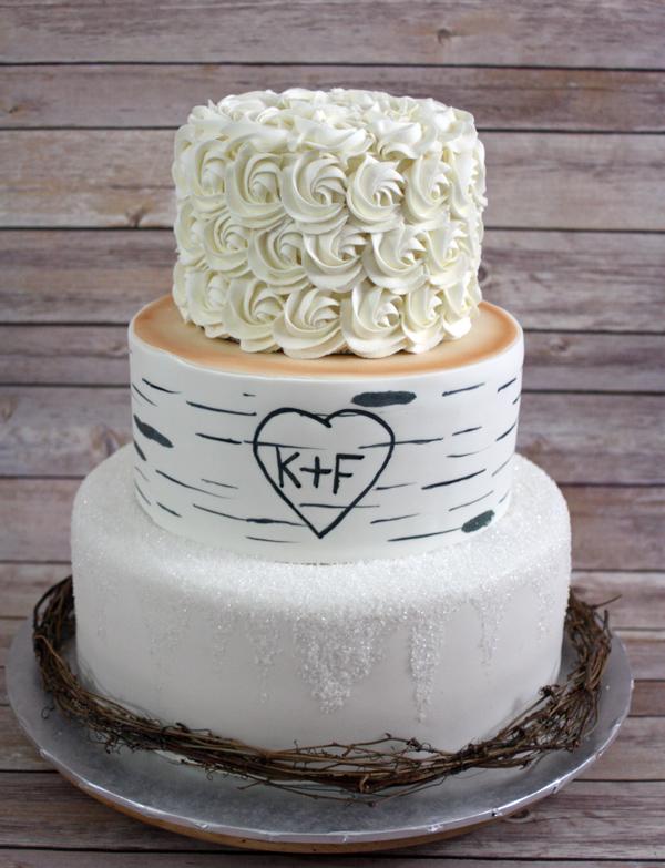 Birch tree winter wedding cake around the world in 80 cakes birch tree winter wedding cake junglespirit Gallery