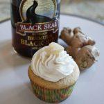 Dark & Stormy cupcake