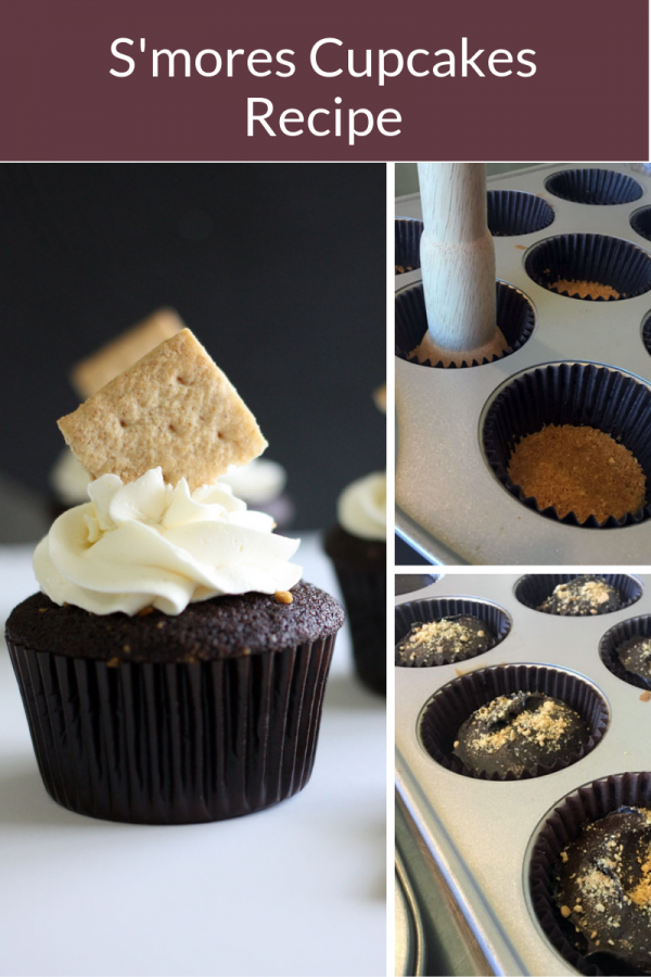 s'mores cupcakes for pinterest