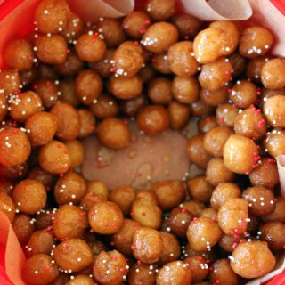 finished Struffoli