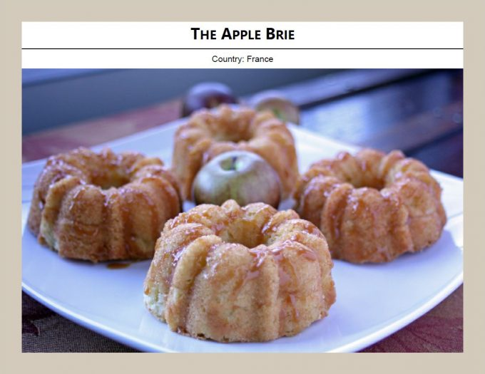 example picture from Cakes without borders volume 1 of apple brie cake