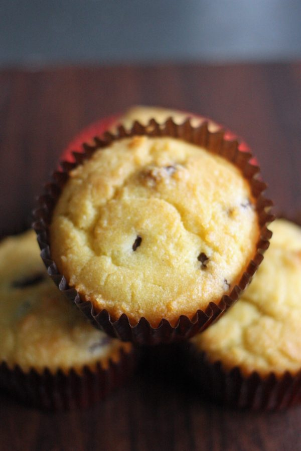 low carb chocolate almond muffins