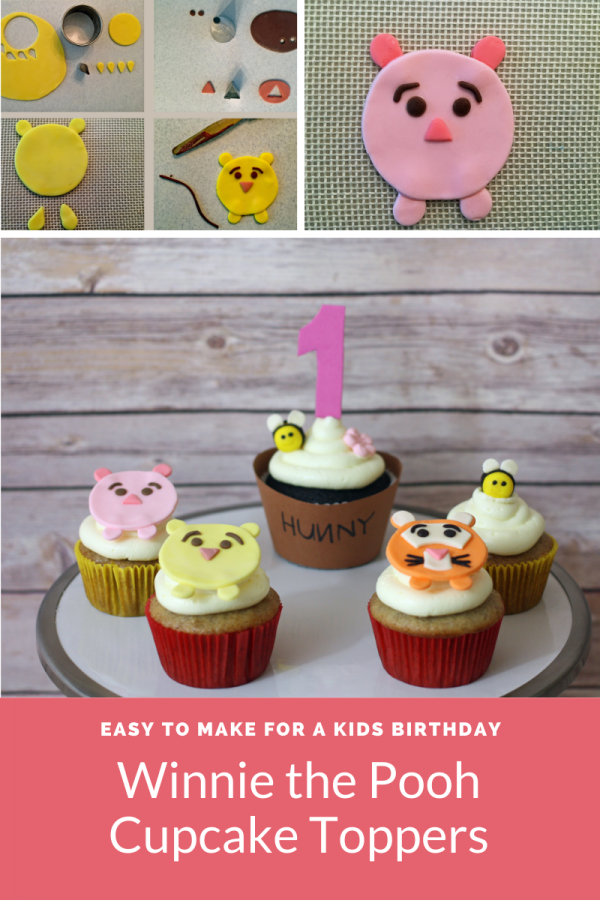 winnie the pooh cupcake topper infographic