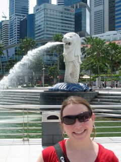 picture of Jen in Singapore